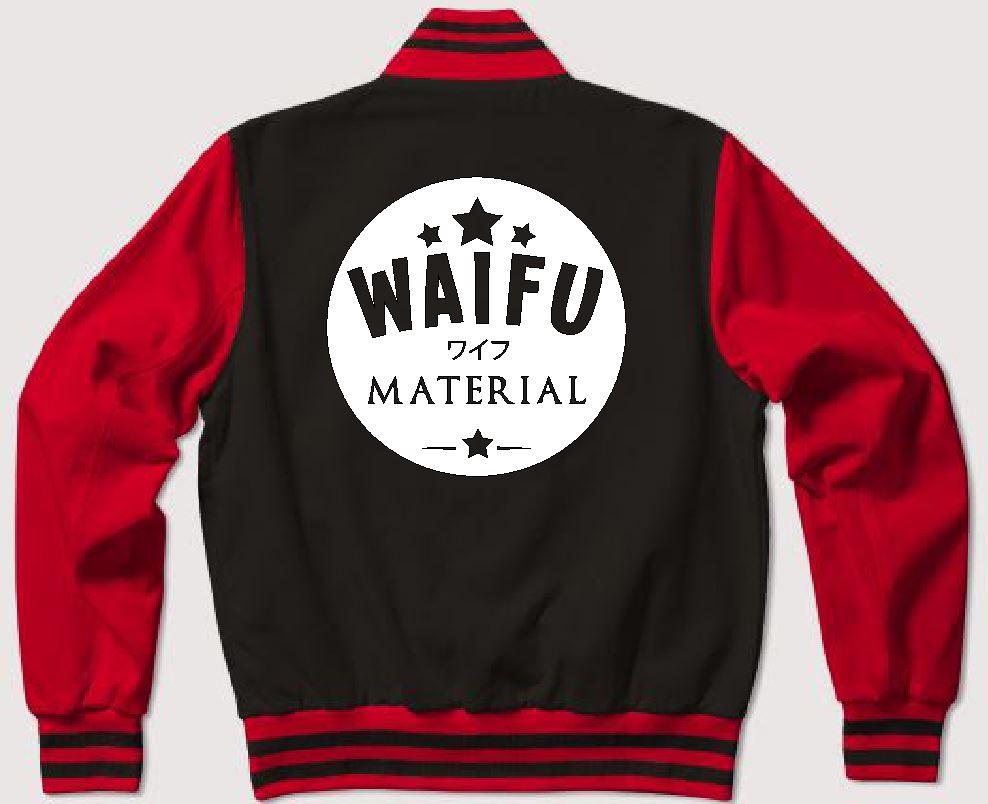 waifu material jacket back