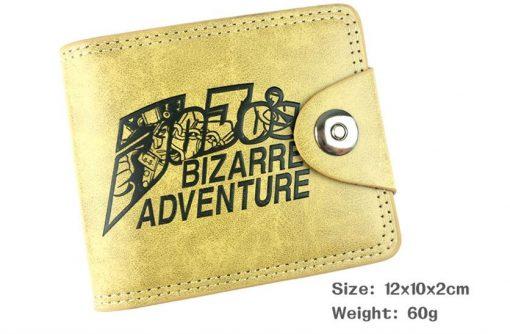 jojo bizarre adventure wallet front